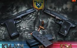 Súng ngắn K-14 do Việt Nam chế tạo có gì đặc biệt?