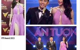 """""""Thót tim"""" với chiếc váy của Thủy Tiên trên sóng truyền hình"""