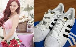 """Hot girl Kelly bị tố bán giày Adidas Superstar """"fake"""" với giá cắt cổ"""