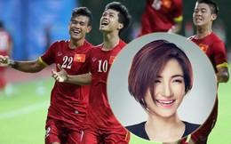 """Hòa Minzy rạng rỡ trong clip """"truyền lửa"""" cho SEA Games"""