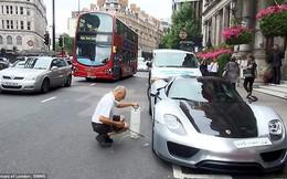 Tỉ phú Arab rửa xe, đường phố London rối loạn
