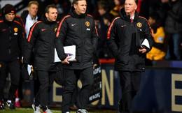 Van Gaal: Trọng tài, sân bãi... mọi thứ đều chống lại Man United