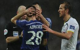 Sao Chelsea vỡ đầu, chảy đầy máu