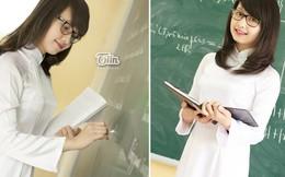 Quá xinh và trẻ, cô giáo 9x bị hiểu lầm là 'học sinh mới'