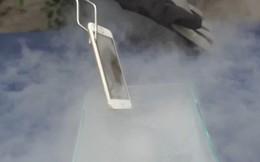 Sẽ ra sao nếu bạn đổ ni-tơ lỏng lên iPhone 6?