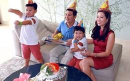 Hoa khôi Thu Hương lần đầu tâm sự về người chồng đào hoa