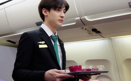 Chàng tiếp viên hàng không người Thái gây sốt vì đẹp trai như soái ca