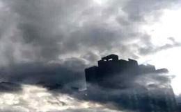 Ảo ảnh kỳ lạ xuất hiện 20 phút trên bầu trời ở Trung Quốc