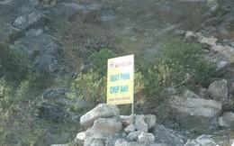 """Mỏ đá trưng biển """"cấm quay phim chụp ảnh"""" khắp nơi"""