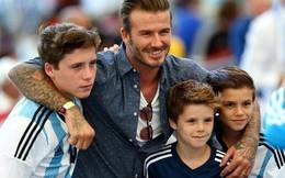 Những điều khiến David Beckham trở thành ông bố tuyệt vời
