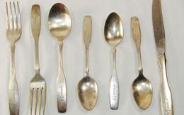 Toàn bộ vi khuẩn trên thìa, dĩa bằng đồng và bạc sẽ chết sau 8 tiếng