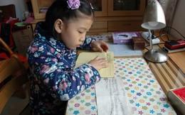 Trang nhật ký đẫm nước mắt của con gái 7 tuổi gửi bố nằm viện vì đột quỵ
