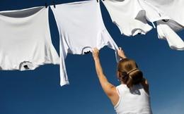 Mẹo hong khô quần áo và xử lý mùi hôi khi trời mưa dài ngày