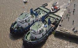 Nổ tàu dưới chân cầu Phú Mỹ, hai người thương vong