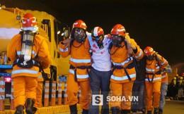 Giả định lửa bốc lên, nhiều người bị thương trong hầm Thủ Thiêm