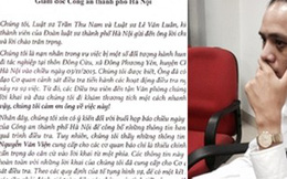 Hai luật sư bị hành hung gửi thư tới Tướng Chung