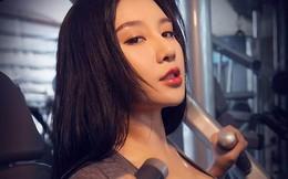 Hot girl ĐH Bắc Kinh khoe ảnh tập thể hình đẹp hút hồn