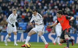 Tranh ghi bàn với Rodriguez, Bale bỏ lỡ không tưởng