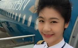 Dung nhan 8x sẽ trở thành nữ cơ trưởng đầu tiên của Vietnam Airlines