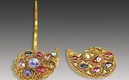 Phát hiện ngôi mộ cổ chứa vàng ròng, đá quý