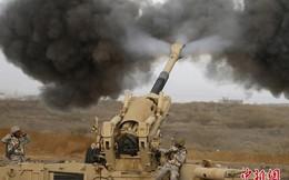 [ẢNH] Saudi Arabia dùng lựu pháo M198 tập kích Yemen