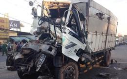 """7 ôtô tông""""dính chùm"""" trên Quốc lộ 1, nhiều người bị thương"""