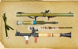 [INFOGRAPHIC] Gia đình súng phóng lựu chống tăng RPG