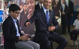 Ông Obama bị học sinh ngắt lời vì… nói nhiều