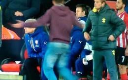 """Fan """"cuồng"""" vào sân mắng xối xả HLV Wenger"""
