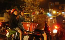 Sài Gòn đã bắt đầu sắm Tết  lúc 0g