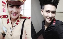 """Mê mệt chàng """"hot boy"""" CSGT điển trai như sao Hàn"""