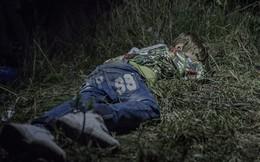 Nhói lòng trước những giấc ngủ tạm bợ của trẻ tị nạn Syria