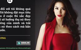 Phạm Hương: Nếu không trở thành Hoa hậu, tôi sẽ...