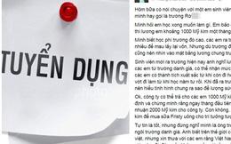 Nhà văn trẻ muốn 'bạt tai', đá xoáy sinh viên Rmit mong lương nghìn đô