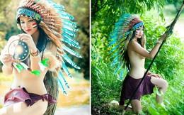 """""""Nữ thổ dân xinh đẹp"""" nói thành thạo 3 ngôn ngữ"""