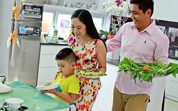 Bữa cơm tất niên không giống ai của vợ chồng Thanh Thúy