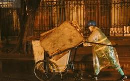 Nhọc nhằn chuyến xe rác đêm trong những ngày nghỉ Tết