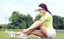 Mỹ nữ đánh golf 9x nổi tiếng vì đường cong chữ S