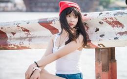 Vẻ đẹp trong veo của hot girl kiêm MC nổi tiếng Sài thành