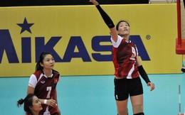 Tuyển nữ Việt Nam đại bại trước Đài Loan