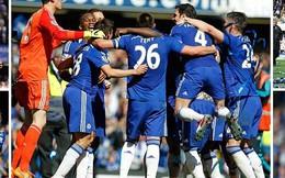 Stamford Bridge ngập sắc xanh mừng Chelsea vô địch sớm