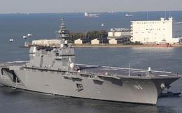 Siêu hạm Izumo Nhật Bản chỉ cần 8 chiếc F-35B để hạ Liêu Ninh?