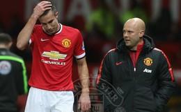 Man United thiệt đơn, thiệt kép trước Southampton