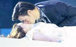 """Những nụ hôn """"gây choáng"""" trong show truyền hình Việt"""