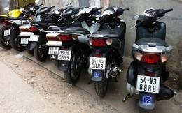 Thú vị với bộ sưu tập xe máy biển số đẹp của biker Việt