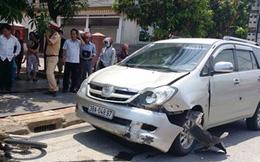 Gây tai nạn, ô tô 7 chỗ kéo xe nạn nhân bỏ chạy gần 3km