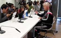 Real chính thức ra phán quyết với Ancelotti