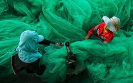 Lưới đánh cá Việt Nam dự thi ảnh quốc tế