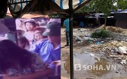 Cô gái bị trói vào cột, đánh, xé áo giữa chợ vì ăn trộm