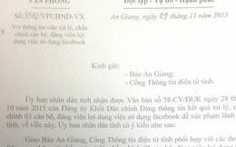 """Vụ """"Bị phạt vì nói xấu lãnh đạo tỉnh An Giang"""": Chê một câu, 16 cơ quan cùng vào cuộc"""